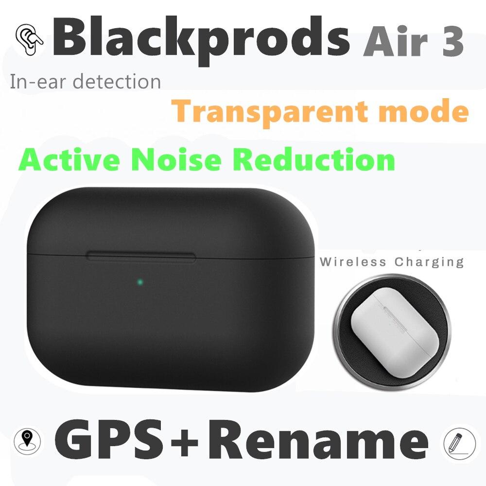Спортивные наушники Blackprods Air 3 Pro TWS, водонепроницаемые, bluetooth, с активным шумоподавлением, прозрачный режим, puresound eraphone air 2
