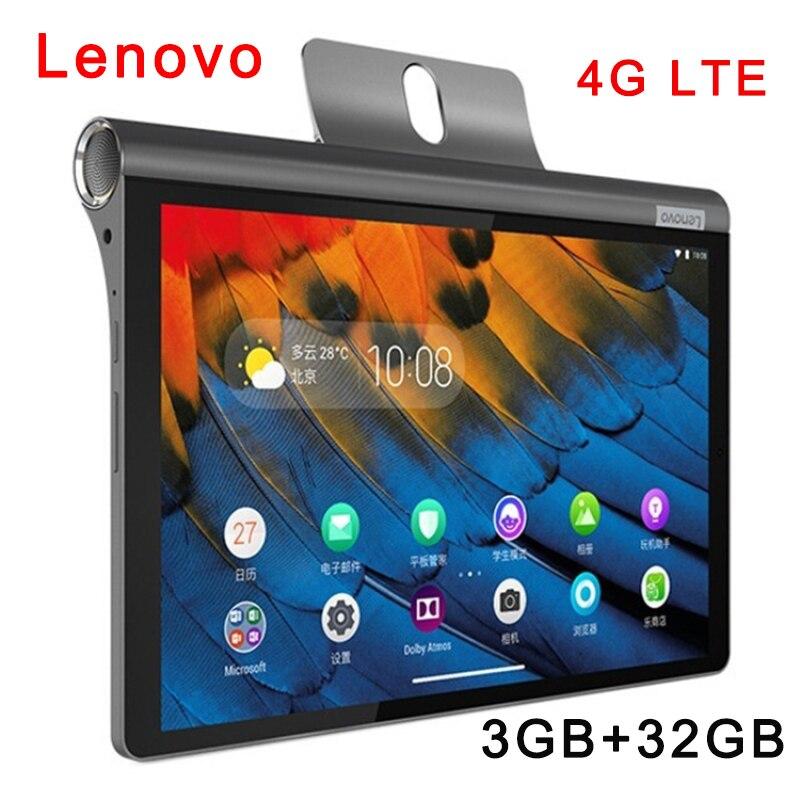 الأصلي لينوفو اليوغا تبويب 5 YT-X705M 4G LTE 10.1 بوصة 3GB + 32GB أندرويد 9 فطيرة كوالكوم سنابدراجون 439 ثماني النواة تصل إلى 2.0G 7000mAh