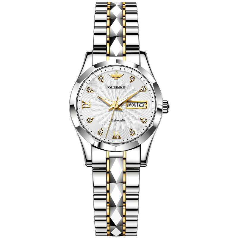 Luxury Brand Automatic Mechanical Watch For Women Stainless Steel Waterproof Ladies Watch Imported Movement EU Certification enlarge