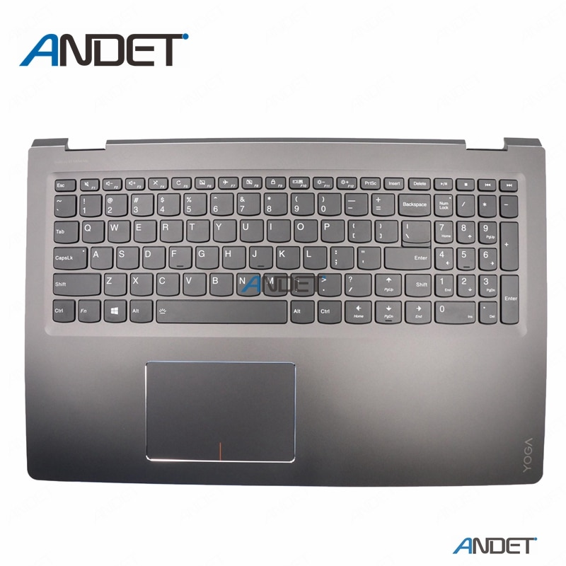 Новый оригинальный для lenovo IdeaPad Flex 4-15 4 15 1570 1580 Yoga 510-15 ISK IKB palmest верхний чехол для США USI клавиатура с подсветкой