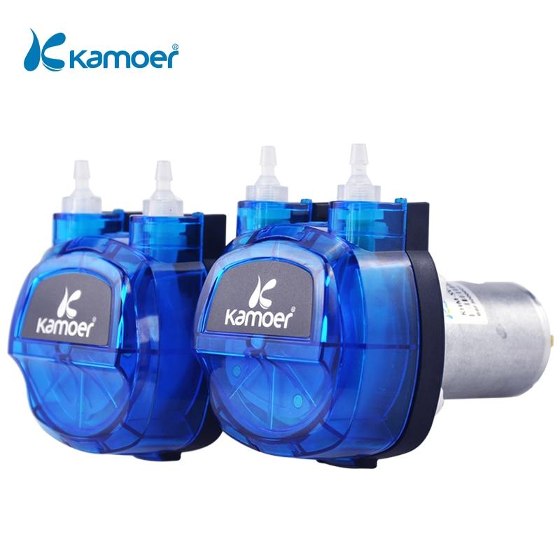 كاموير KHM 12 فولت/24 فولت مضخة الجرعة التمعجية نحى المحرك مع أنبوب السيليكون/Norprene لتحليل المختبر وملء السائل