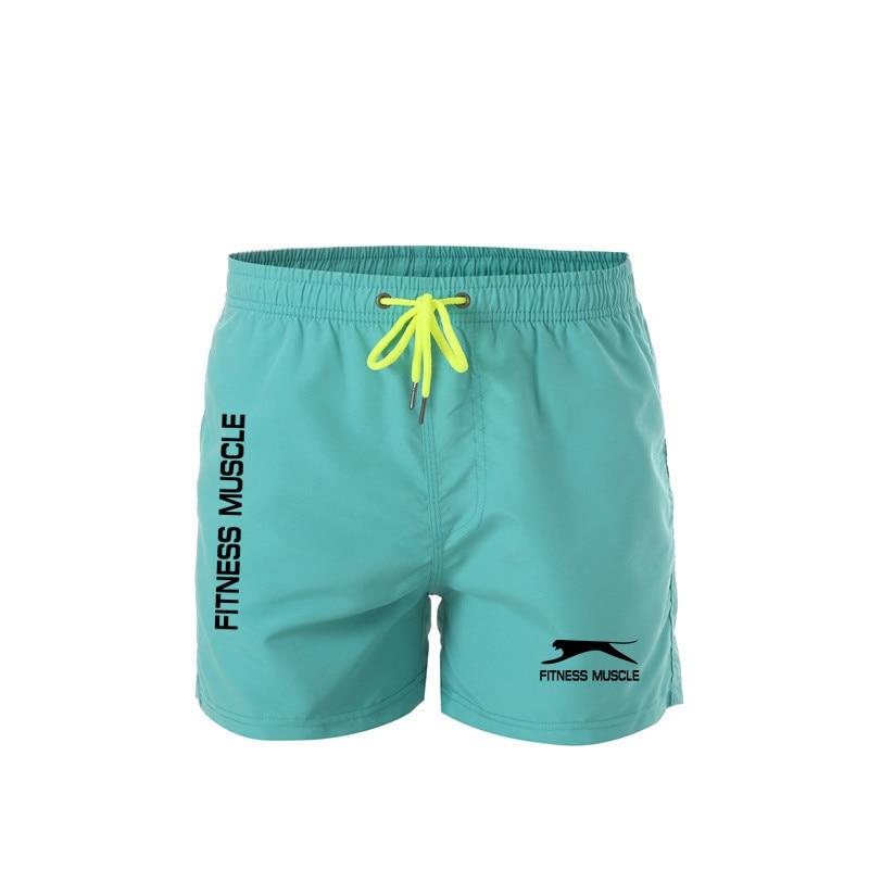 Быстросохнущие пляжные шорты с принтом для фитнеса, новинка 2021, мужские купальники, мужские плавки, летняя пляжная одежда для купания, шорты...