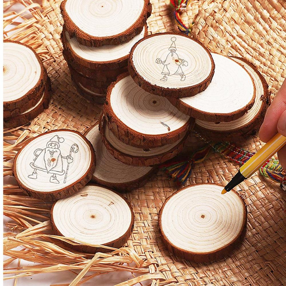 DIY Ornament Wooden log stump note holder photo folder creative home diy wooden stump decoration ornaments wedding crafts