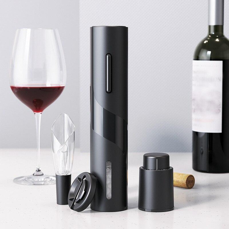Abridor de botellas de vino eléctrico profesional, destornillador, herramientas de Bar, Decapsuleur,...