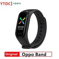 Original New OPPO Band Smart Bracelet 2 Color AMOLED Screen Smartband Fitness Traker Bluetooth Sport Waterproof Smart Band