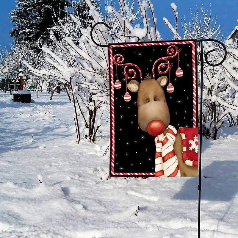 Домашний сад карамельный тростниковый олень декоративный Зимний Рождественский