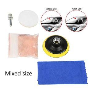 Image 2 - 5 шт. Полировальный Набор для полировки лобового стекла автомобиля инструмент для удаления царапин E7CA