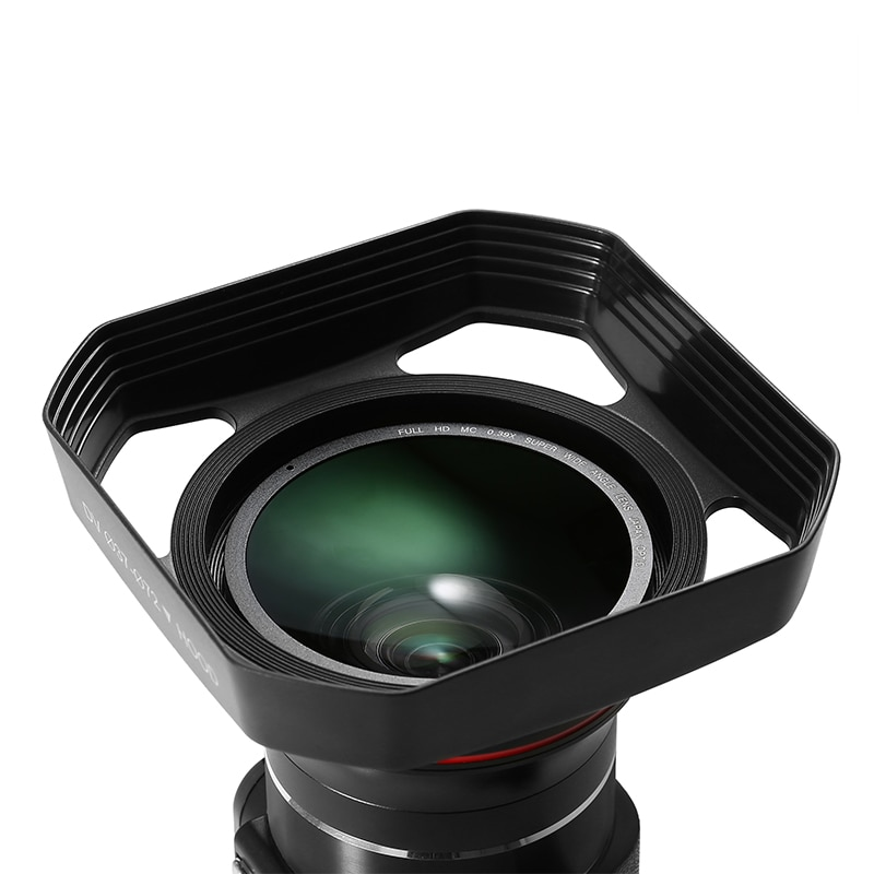 Cubierta de lente desmontable para cámara de vídeo, lente de gran angular...