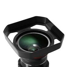 Pare-soleil détachable 37 mm 72mm pour caméra vidéo 4k objectif grand Angle Camara Fotografica professionnel