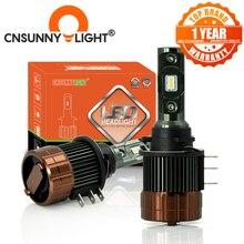 CNSUNNYLIGHT H15 LED Canbus día coche con luces faro 12000Lm diurna para el Mazda/BMW/Mercedes GLK/A180/Audi Q7 A6 A3 Golf/6 7