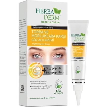 HerbaDerm Brightening Eye Cream C Vitamin Under Eye Dark Circle Eye Brightening 15 ml недорого