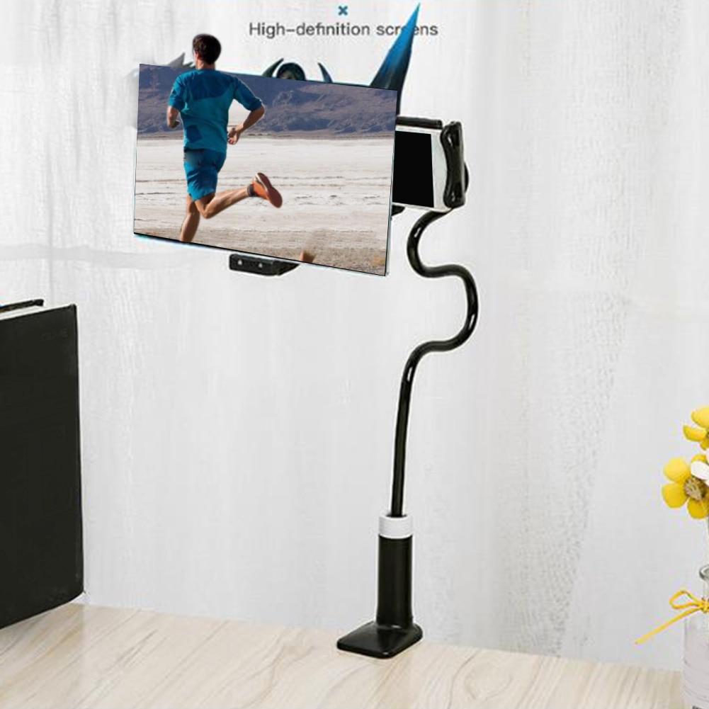 Projetor de vídeo hd, amplificador de vídeo, suporte flexível, lente de aumento, tela de celular, suporte para desktop