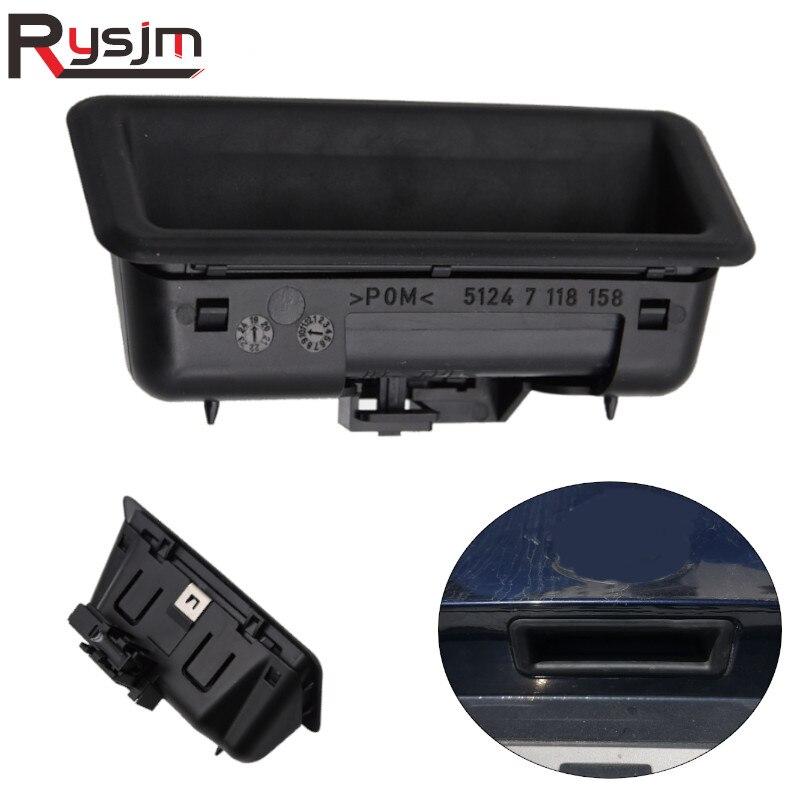 5124 7 118 158 автомобиля крышка багажника ручка кнопка выхода переключатель подходит для BMW 1/3/5 серий E88 E90 E92 X1 X5 X6 E84 E70