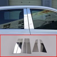 Car Exterior decoration Accessories 6-Piece Aluminum alloy Window Molding Trim For Mercedes-Benz B Class B200 W247 2020