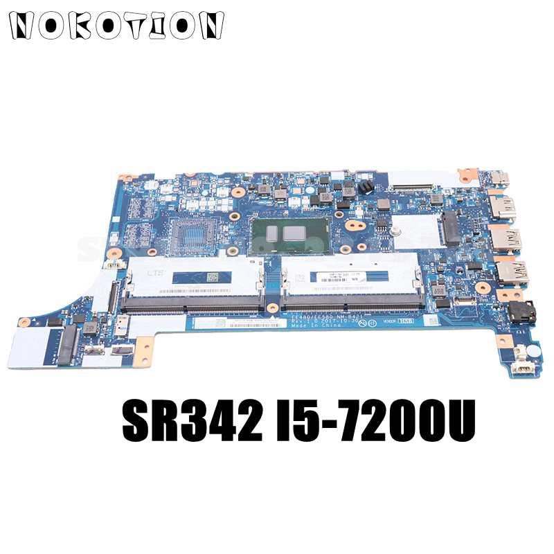 NOKOTION 01LW904 01LW183 EE480 EE580 NM-B421 لينوفو ثينك باد E480 E580 اللوحة المحمول SR342 I5-7200U GMA DDR4