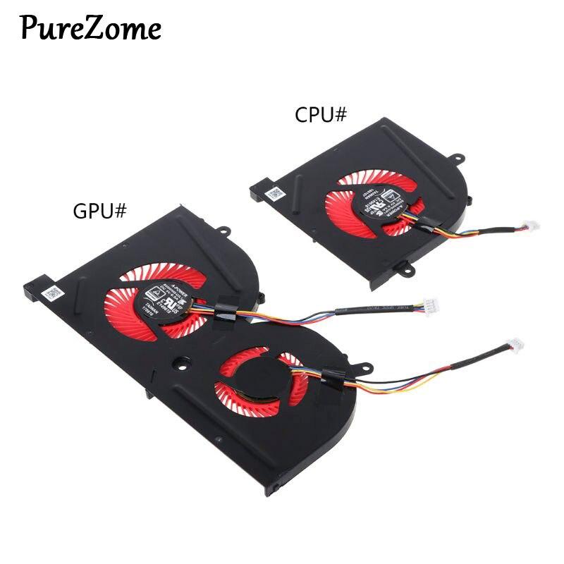 Ноутбук GPU cpu охлаждающий вентилятор для MSI GS63VR GS63 GS73 GS73VR MS-17B1 Stealth Pro cpu BS5005HS-U2F1 GPU кулер для BS5005HS-U2L1