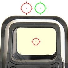 Point Rouge Vert tactique Holographique Lunette de Visée De Chasse Airsoft 551 552 553 Point rouge Point de Vue Lunette De Visée Avec 20mm de Bâti