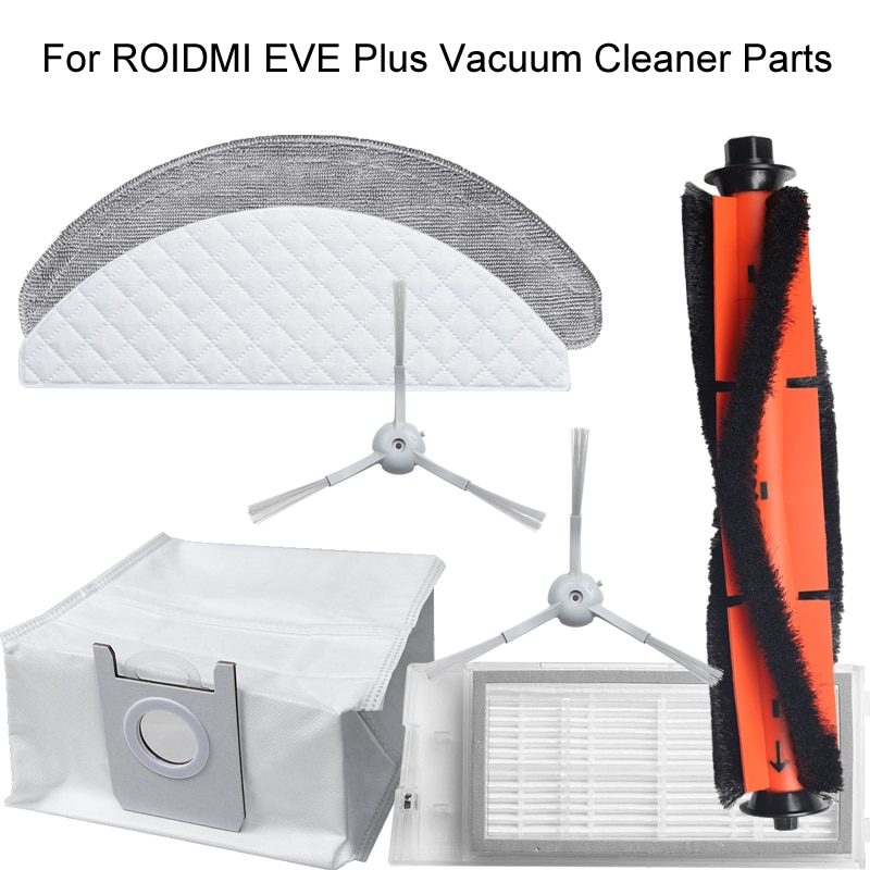 For ROIDMI EVE Plus Vacuum Cleaner Parts Dust Bag Disposable Wipes Repetitive Wipes Accessories
