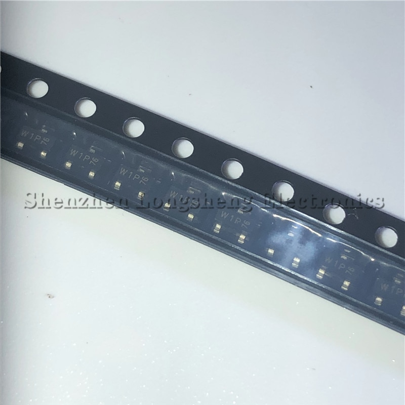 50 шт./лот PMBT2222A Шелковый экран W1P SOT23 SMD транзистор