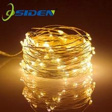 Led Fairy Lights filo di rame String 1/2/5/10M Holiday Outdoor Lamp ghirlanda Luces per la decorazione della festa nuziale dell'albero di natale