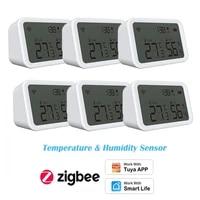 NEO Zigbee Smart Light Sensitive Detection Temperature Humidity Sensor Data Sync Tuya Smart Life APP OTA Smart Home Automation
