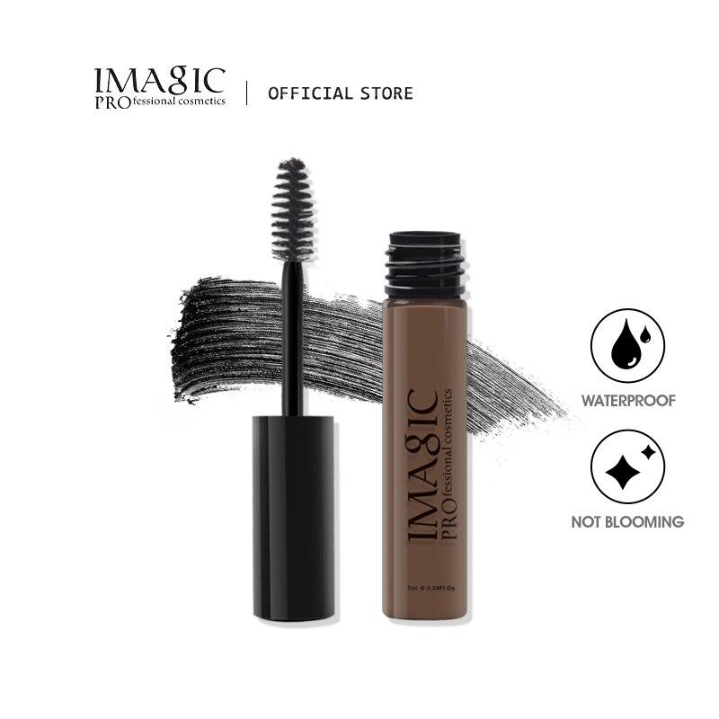 IMAGIC Eyebrow Gel Cream Cosmetics Enhancers With Brush Waterproof Long Lasting Professional Female Eyebrow Pomade Tattoo недорого