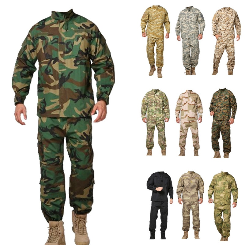 Kryptek Mandrake ejército táctico Airsoft uniforme camuflaje militar Airsoft uniforme de combate al aire libre uniforme hombres ropa conjunto