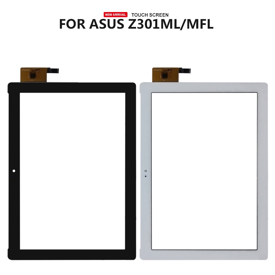 Para Asus Zenpad 10 Z301M táctil de cristal Z301ML Z301MF digitalizador táctil Z301MLF P028 pantalla táctil de vidrio de Panel de herramientas libres