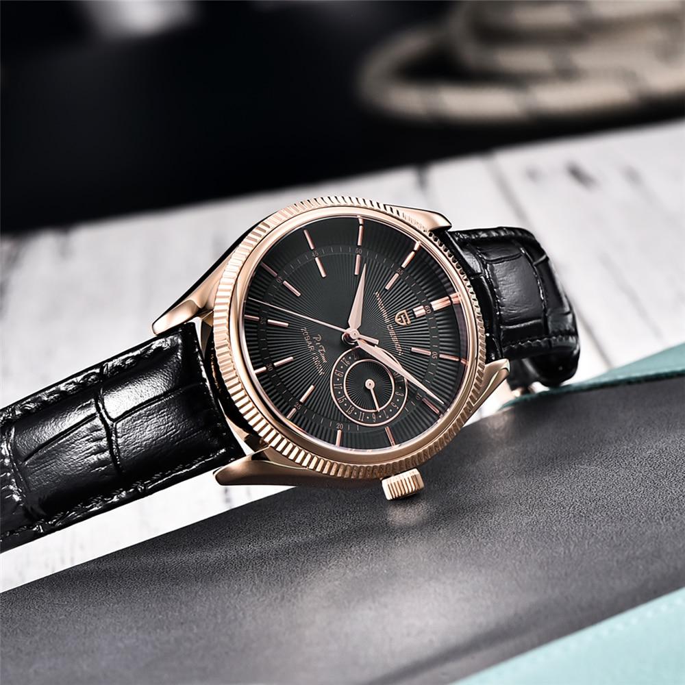 2021 New PAGANI Design Classic Retro Men's Automatic Quartz Watches Sapphire Japan VH65 Clock 200 Meters Diving Reloj Hombre enlarge