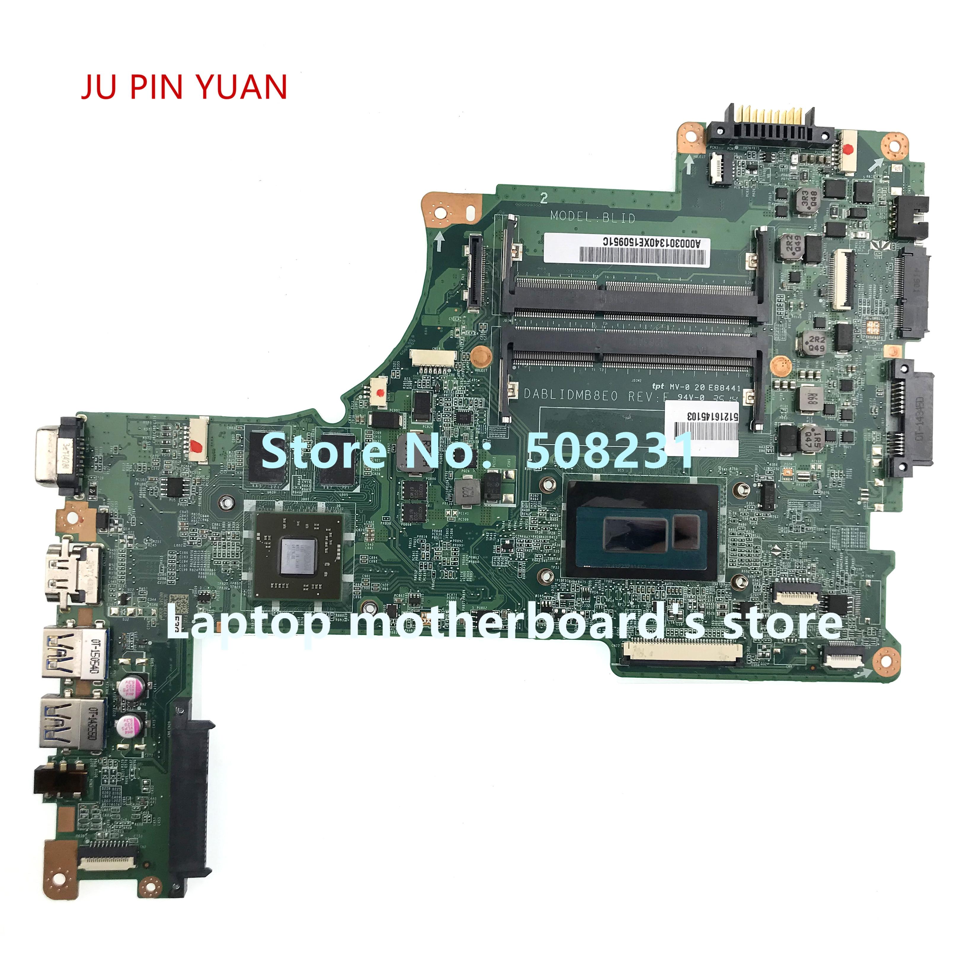 لتوشيبا L50-B L50-B L55-B اللوحة المحمول A000301340 DABLIDMB8E0 مع i5-4210u CPU 100% اختبار بالكامل
