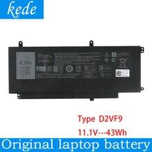 Kede original laptop battery D2VF9 for Dell Inspiron 15 7547 0PXR51 PXR51 Tablet ( 11.1V 43Wh )