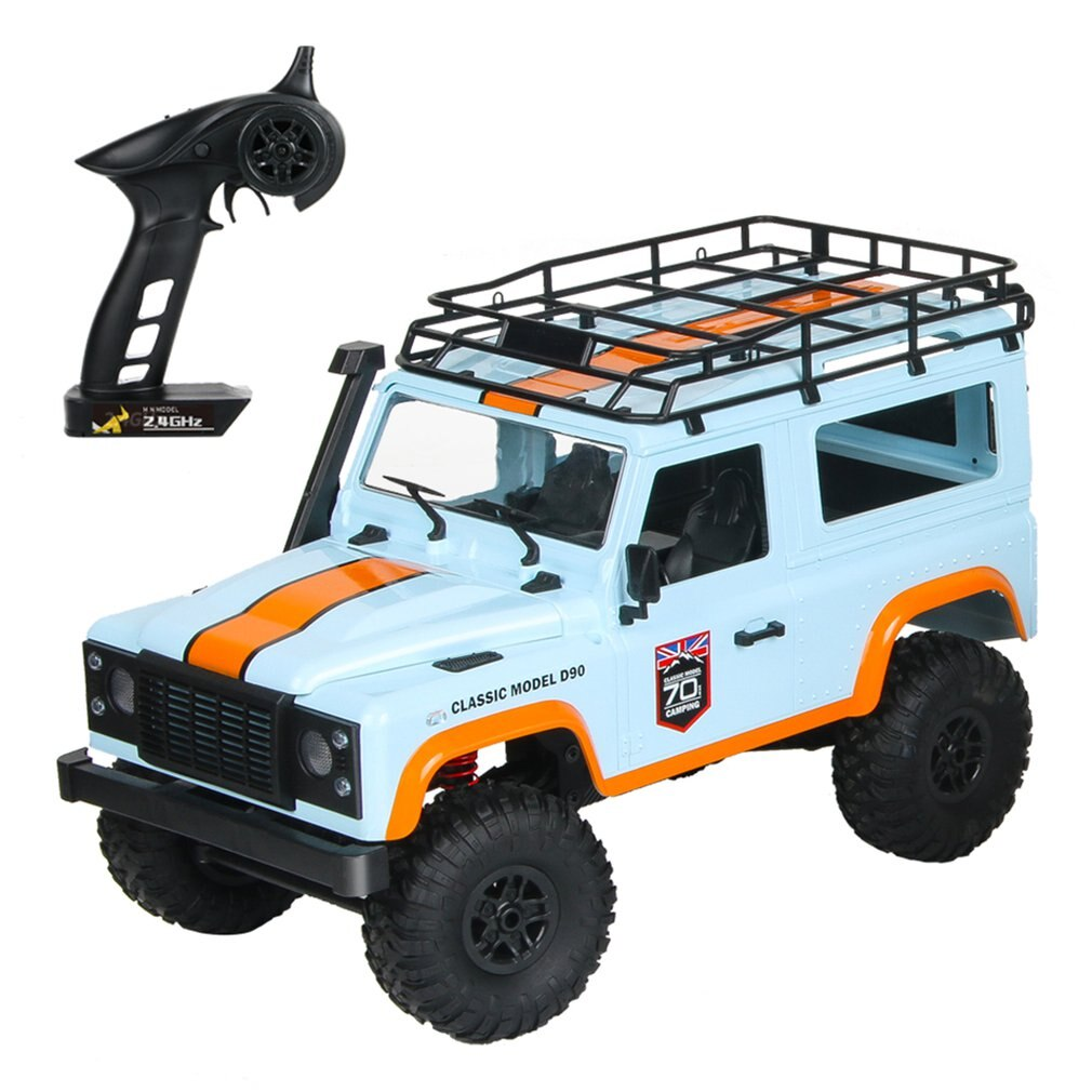 MN-99 1:12 4WD RC Crawler Car 2.4G Remote Control Big Foot Off-road Crawler Military Vehicle Model RTR Toy For Kids Gift enlarge