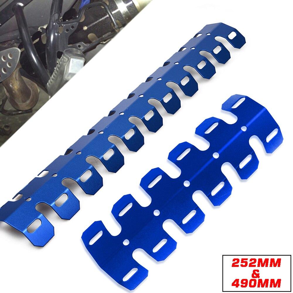 Новинка, глушитель выхлопной трубы мотоцикла, тепловая защита, Защитная крышка для Yamaha MT07 MT-07 mt 07 09 FZ09 FZ-07 FZ09 R1 R6 MT10