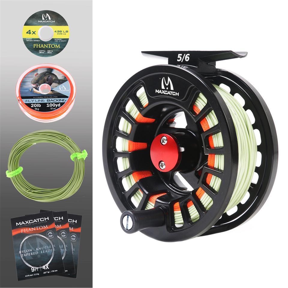 Maximumcatch 7-8Sec Travel Fly Fishing Rod Combo 5/6/7/8WT 9ft Graphite IM10/30T+36T Carbon Fiber Fly Rod with Reel Full Kit enlarge