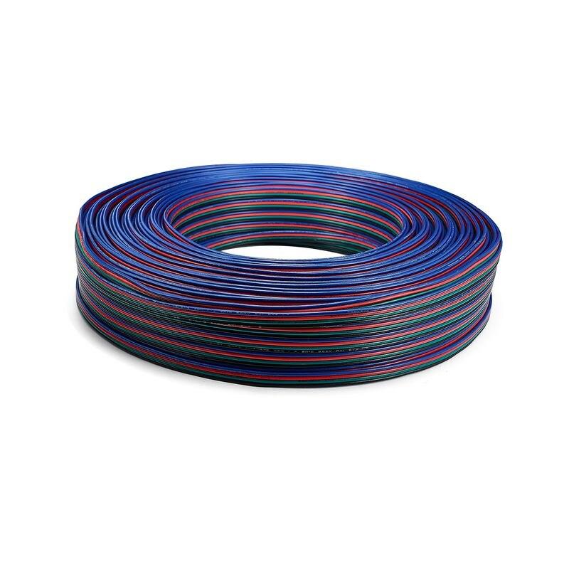 10 rollo de 100m 4pin UL2468 22 AWG 4x0,34 sq mm Cable...