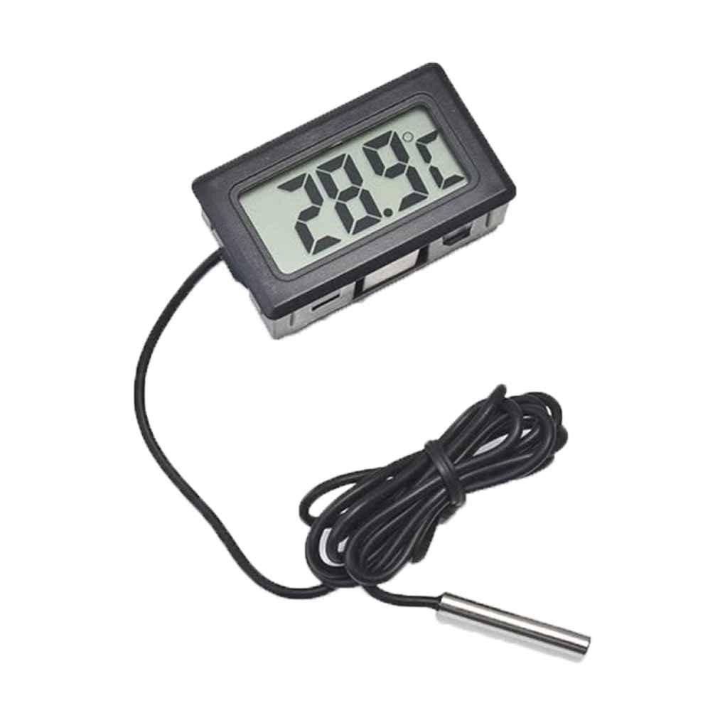 Mini Digital LCD Indoor Convenient Temperature Sensor Humidity Meter Thermometer Hygrometer Gauge Me