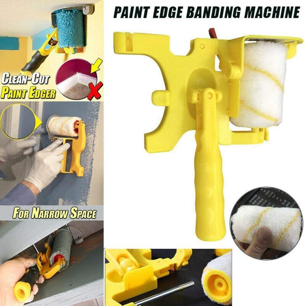 G30 Clean-Cut Paint Edger Roller Brush Multifunctional Roller Paint Brush Clean-Cut Paint Edger Wall Painting Roller Brush Set