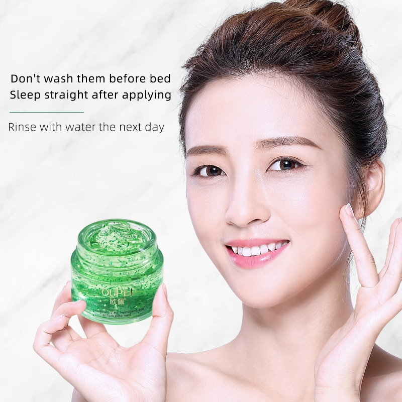 Wash-free Sleeping Facial Mask Sleeping Mask Cream No Wash Moisturizing Night Cream Anti Aging Anti Wrinkle Nutrition Face Cream
