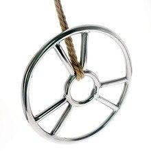 Stainless Steel Bdsm Bondage Suspension Ring Shibari Rope Sm Toys for Couples Sex Slave Restraints Spreader Bar Adult Games Toys