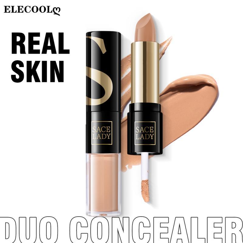 ELECOOL Professiona Concealer Face Make Up Liquid Waterproof Contouring Foundation Contour Makeup Concealer Stick Cosmetics