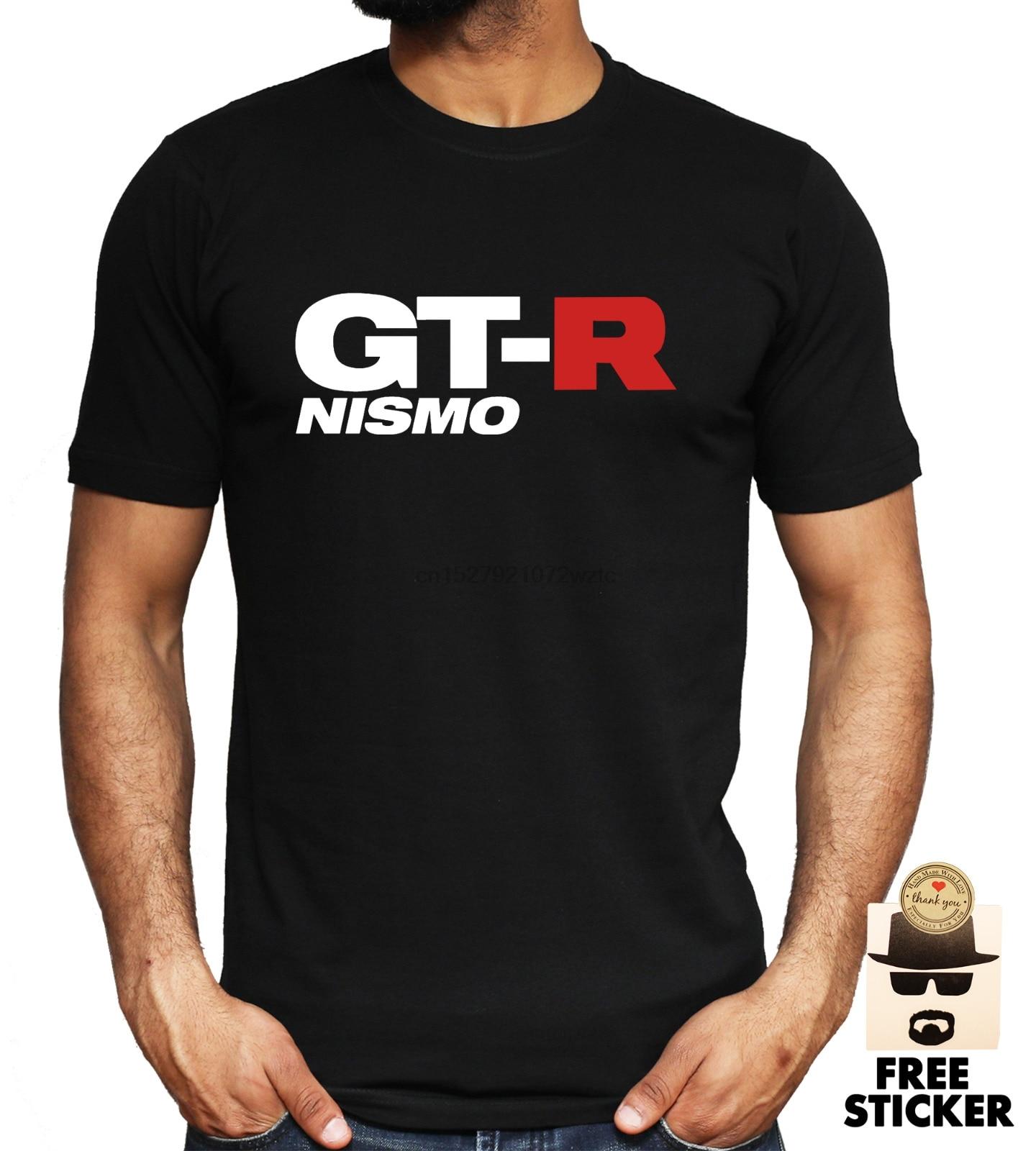 GTR Nismo T camisa logotipo de Nissan Auto Racing JDM hombre Superior S-XXL