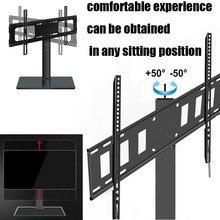 Support universel de Base de moniteur de Table de TV Stable et de sécurité support de plancher de TV pour la télévision daffichage à cristaux liquides de LED de Plasma 32