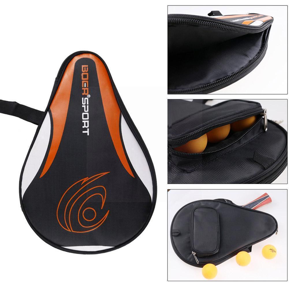 Портативный чехол для ракетки для настольного тенниса, чехол для ракетки для настольного тенниса, сумка для ракетки для тенниса, спортивная...