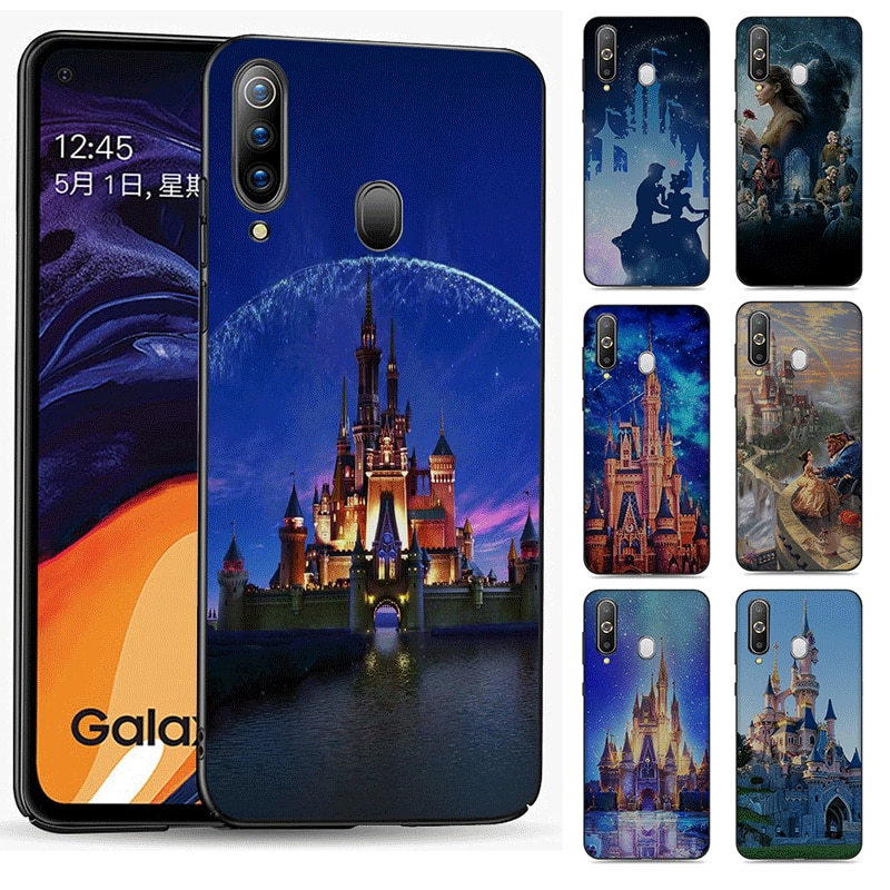 Teléfono de silicona funda para Samsung Galaxy S20 Ultra Plus S6 S7 S8 S9 S10 Lite Edge Plus Nota 8 9 10 Plus Disney Castillo