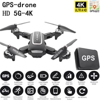 adjustment camera gps drone with 4k hd wide angle 5g wifi fpv rc quadcopter professional foldable drones aerial photography