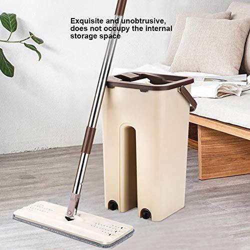 Nuevo Kit de herramientas de limpieza de fregona giratoria de 360 grados, piso de mármol para sala de estar, cocina