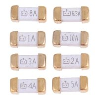 10pcs foot 1808 125v smd fast blow fuse 0 5a 0 75a 1a 2a 3a 4a 5a 6 3a 8a 10a 0451 ultra rapid fuses drop shipping