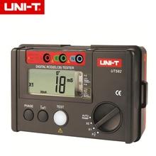 UNI-T UT582 + numérique RCD (ELCB) testeur automatique de disjoncteur de fuite de rampe avec avertisseur sonore