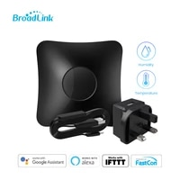 broadlink rm4 pro uk version ir infrared and rf433315 remote smart hub with hts2 temp and humidity sensor smart home automation