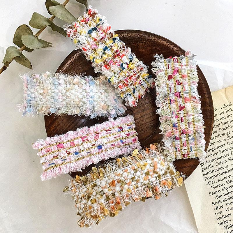 Barrettes accessoires pour cheveux style coréen   Pinces à cheveux carrées tricotées pour enfants filles, Barrettes pour cheveux, pinces à cheveux pour enfants